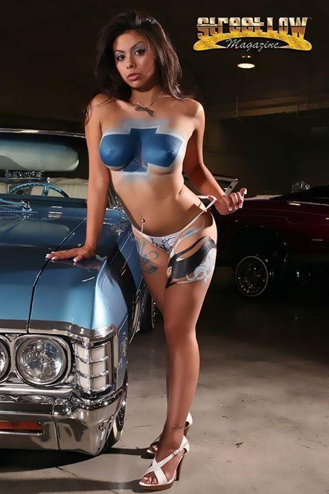 Fill lowrider cars girls hot