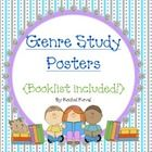 (writing & reading workshop) Here is another colorful version of Genre Study Posters.   This pack is a very colorful way to display the different genres studied in your class. ...