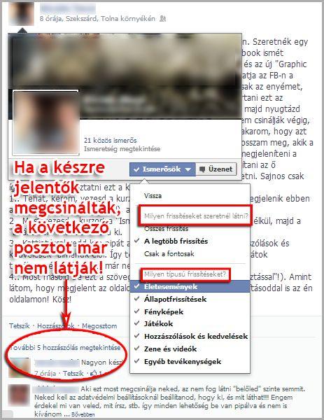 FB Hoax - hogyan érjük el, hogy senki ne lássa tevékenységünket? - Lailanma Marketing