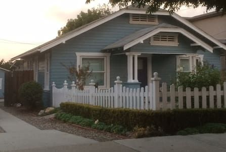 Check out this awesome listing on Airbnb: 1925 Craftsman Beach Bungalow in Morro Bay - $550, 2 bedroom cottage, walking distance to stuff