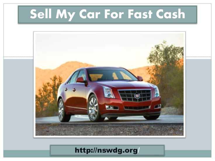 how to sell my car fast for free