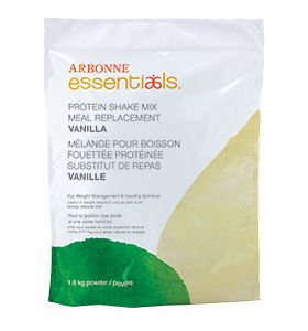 Protein Shake Mix Meal Replacement – Vanilla CA #2070 - Arbonne