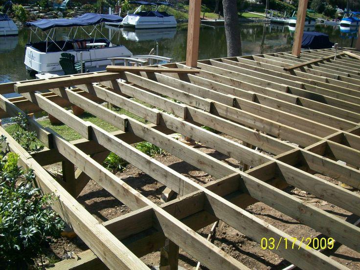 diy raised deck   deck building contractors   Decks Remodeling ...