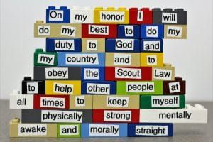 How to Easily Learn the Scout Oath and Law with Legos | Cub Scout Ideas