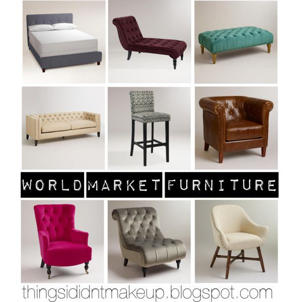 """World Market Furniture"" by staceykosmides on Polyvore"