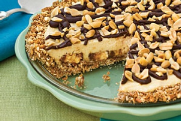 ... bar (snickers, cut into chunks) 1 pie shells (10 inch, baked) 11 14