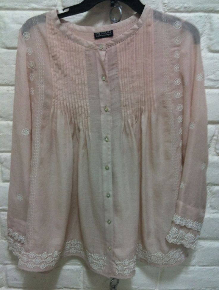 Pin tuck Embroidery top