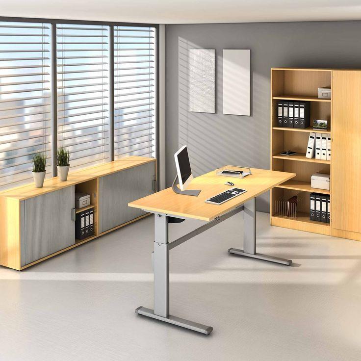 #SWDirekt: Elektromotorisch Höhenverstellbarer Arbeitstisch, Schreibtisch  Mit Einer Höhenverstellung Von 63 130 Cm