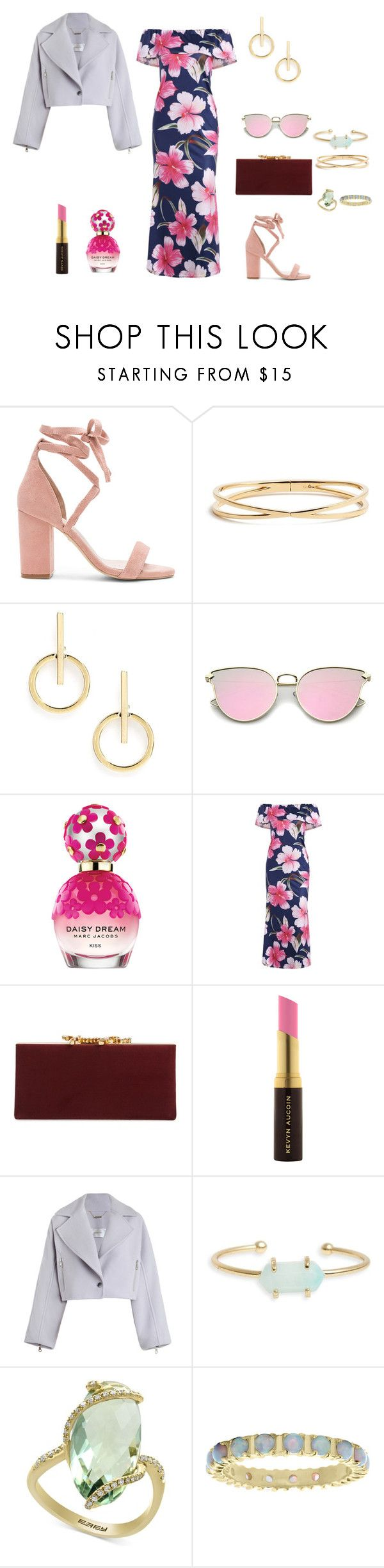 """casamiento"" by ananleke on Polyvore featuring moda, Raye, Nadri, Sole Society, Marc Jacobs, Jimmy Choo, Kevyn Aucoin, Zimmermann, Treasure & Bond y Effy Jewelry"