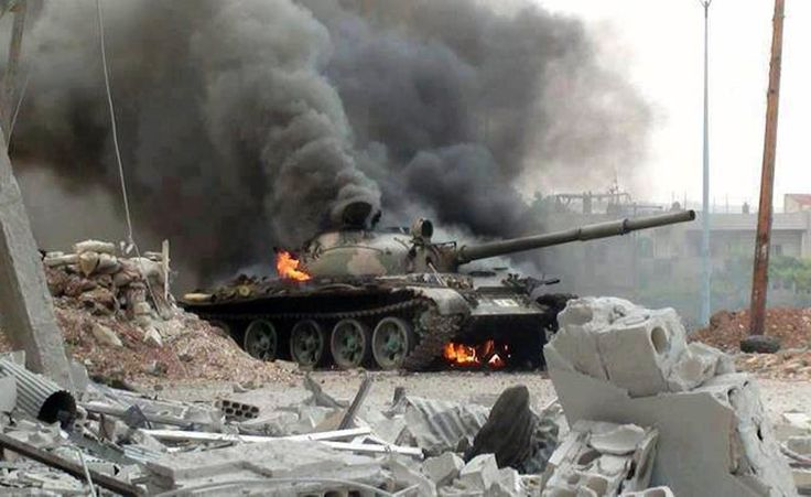 Tank Hunters Compilation In Syria Tank. Syrian Rebels Destroy T 72 Tanks...