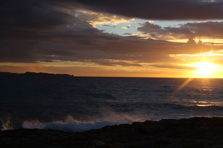 sssschitterende zonsssssondergang!