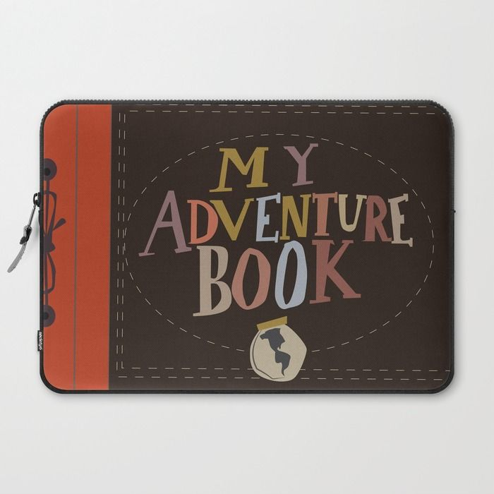 my adventure book.. up, carl and ellie Laptop Sleeve  SO CUTE
