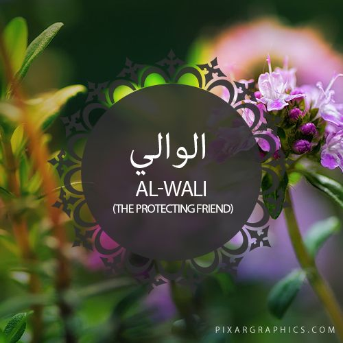 Al-Wali,The Protecting Friend,Islam,Muslim,99 Names