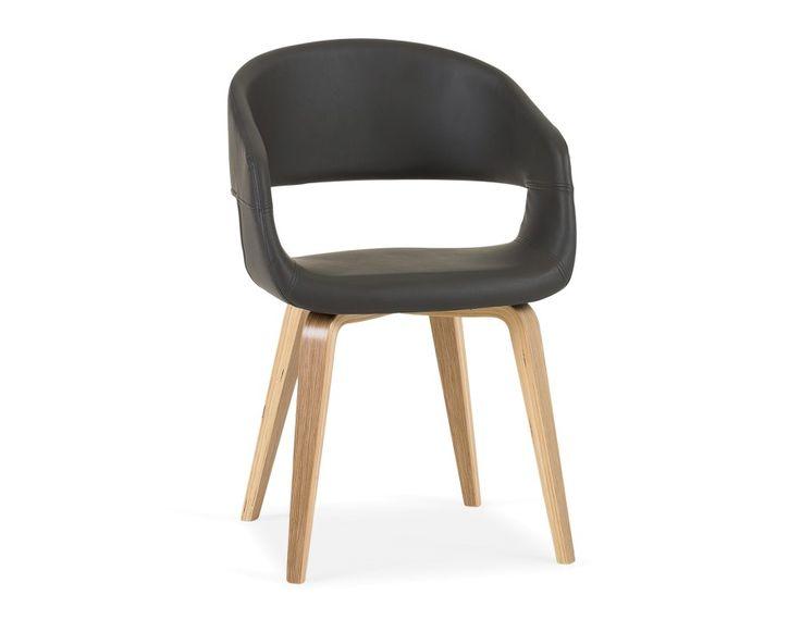 YAN - Dining chair - Grey