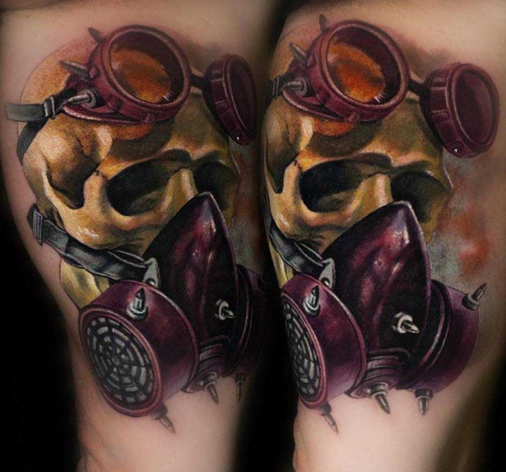 best 25 gas mask tattoo ideas on pinterest apocalypse tattoo dark mask and weird drawings. Black Bedroom Furniture Sets. Home Design Ideas