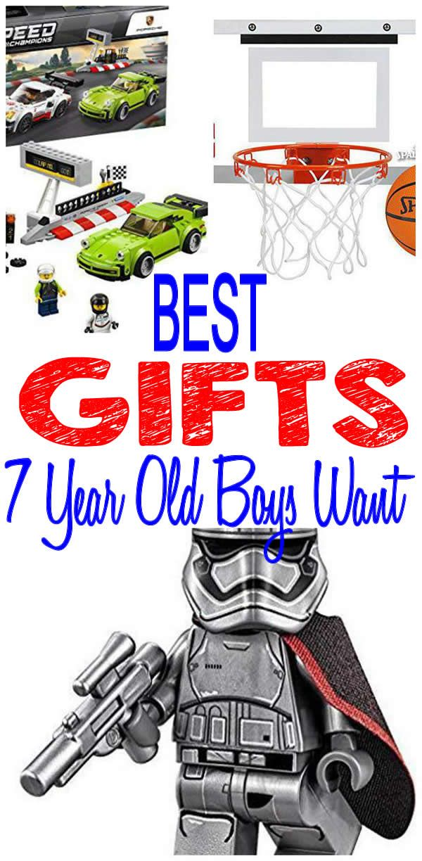7 Year Old Boy Gifts Get The BEST Boys Will Want Find Most Popular And Trendy Presents For A 7th Birthday Christmas Holiday Or Any
