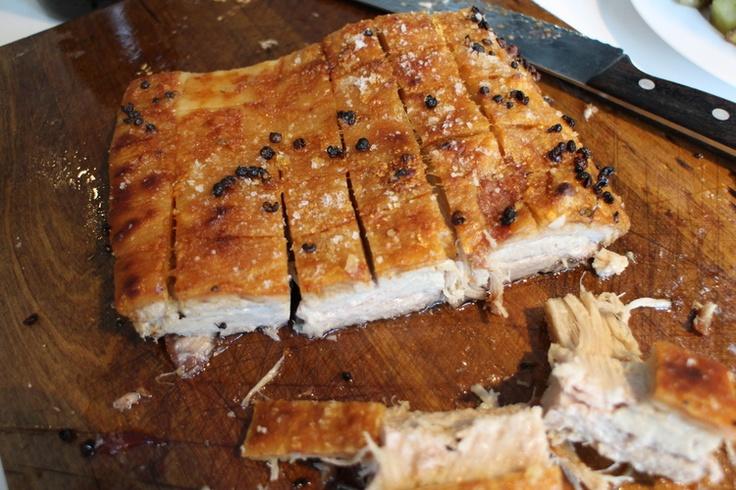 Asian pork belly.