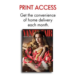Vanity Fair Magazine Subscription