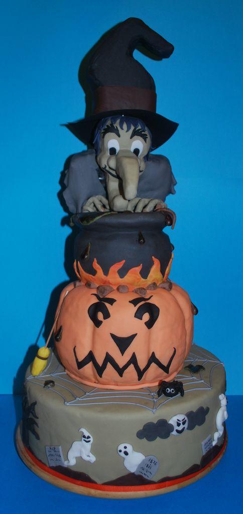 Halloween taart.