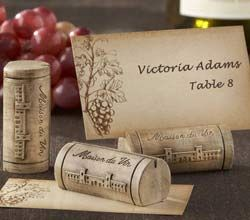 Wine Cork Place Card Holder - Wine Theme Favors and Decor | Kate Aspen