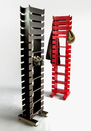 Tim Wigmore : Hangup. NZ designed coat and shoe rack.