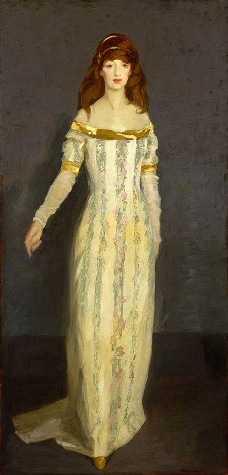 The Masquerade Dress / Robert Henri / 1911 / Oil on canvas