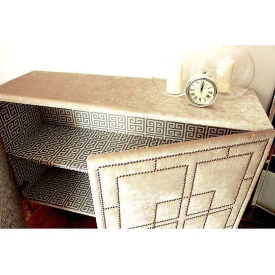 La Dolce- wnętrze tapicerowanej komody od ORNALI// La Dolce - upholstered dresser by ORNALI