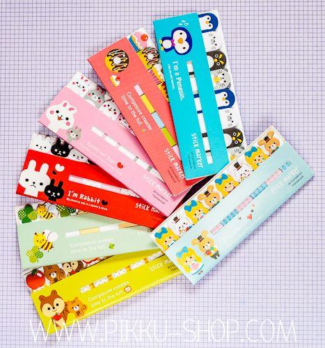 Cute Mini Marker Notes from Pikku Shop | www.pikku-shop.com | #stickynotes #kawaii #stationery