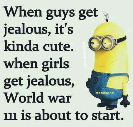 #Funny #Minion #Quotes About Guys vs. Girls