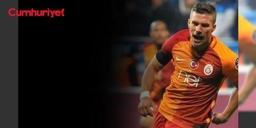Galatasaray'da flaş ayrılık! Podolski gidiyor işte yeni takımı: Alman futbolcu, 3 yıl için 15 milyon Euro (58 milyon TL) karşılığında Vissel Kobe ile kesin olarak anlaştığını sarı kırmızılı kulübe bildirdi. Galatasaray yönetimi bunun üzerine Japon kulübü ile bonservis #pazarlığına oturdu ve transfer kesinleşti.