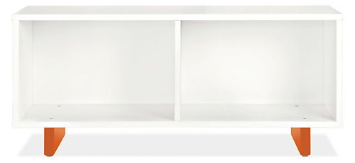 """42""""and 56"""" sizes  Moda Bookcase Benches - Bookcases & Cubbies - Entryway - Room & Board"""