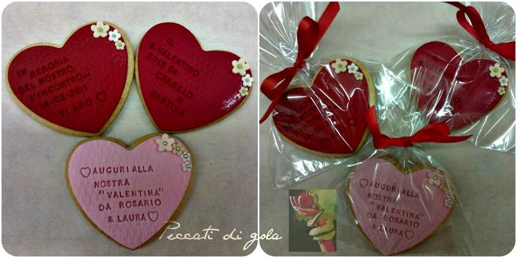 Heart cookies to gift to our love ...