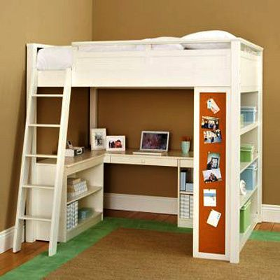 25 best ideas about childrens beds on pinterest kids for Study bed plans