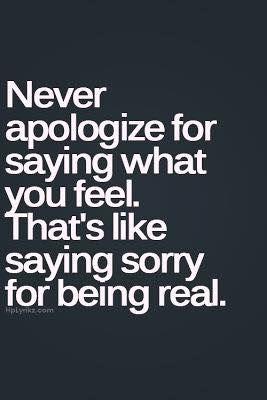 Express your feelings  #feel
