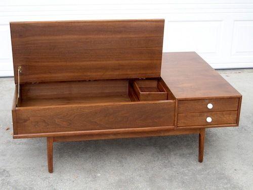 Danish Modern coffee table by Kipp Stewart for Drexel