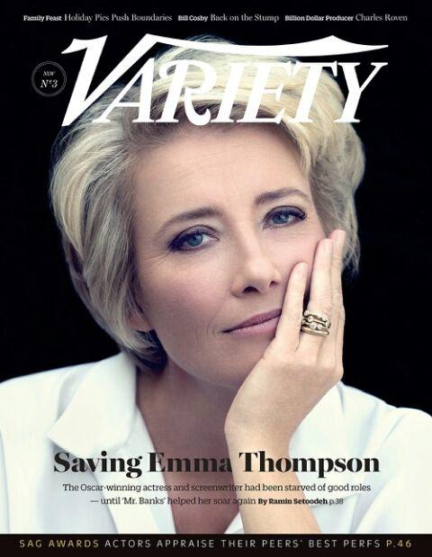 左利きの有名人、エマ・トンプソン♡