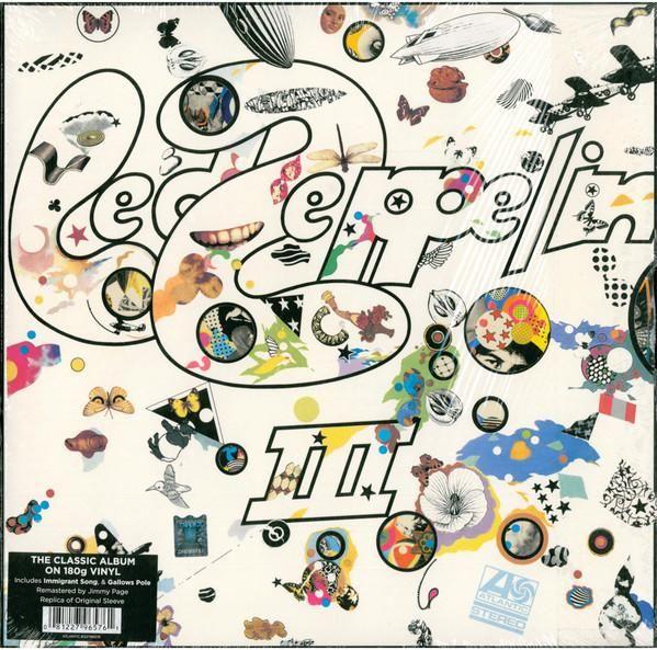 My favourite Led Zep album, Jimmy Page on fine form Led Zeppelin - III (1LP)