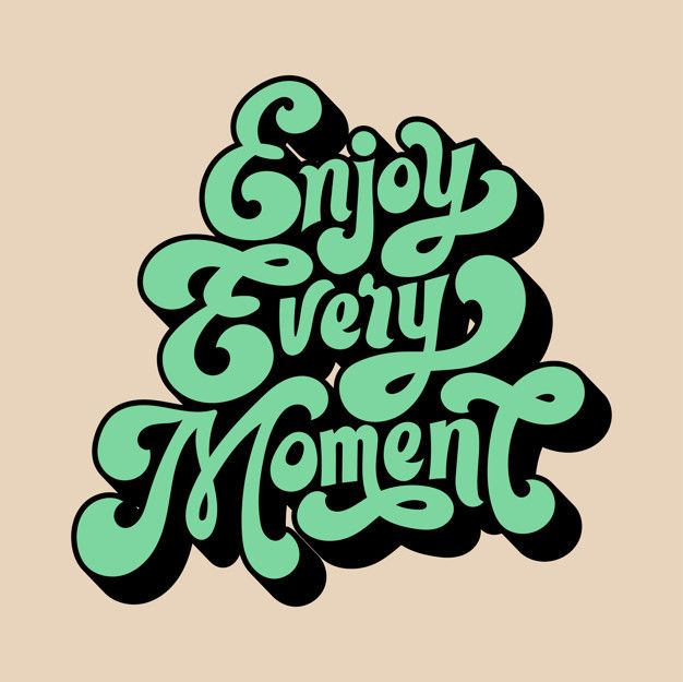 Download Enjoy Every Moment For Free Wall Prints Quotes Cute Patterns Wallpaper Clip Art