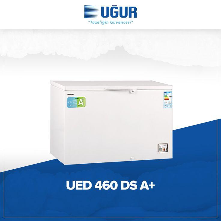 UED 460 D/S A+ birçok özelliğe sahip. Bunlar; mekanik ısı kontrol sistemi, iç aydınlatma, hızlı şoklama, gövdeye entegre kilit, su tahliye tıpası, çıkarılabilir tel sepet, hareket kolaylığı sağlayan 4 adet tekerlek (opsiyonel), rahat kullanışlı kapak tutamağı ve 3 farklı mod seçeneği (Dondurucu, soğutucu, sıfır derece chiller). #uğur #uğursoğutma