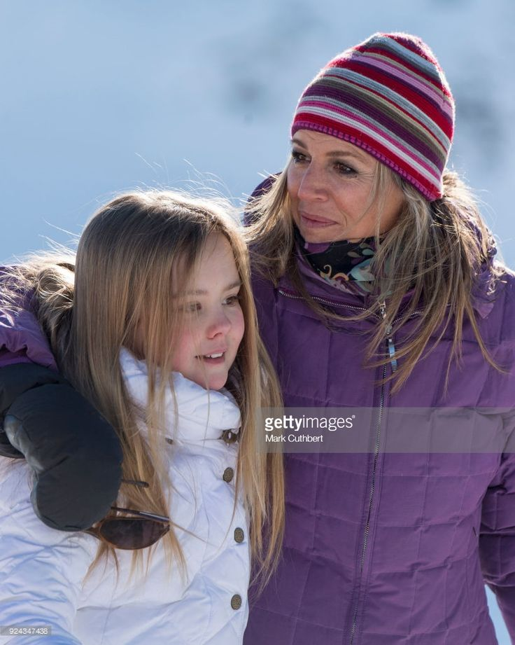 News Photo : Queen Maxima of the Netherlands and Princess...