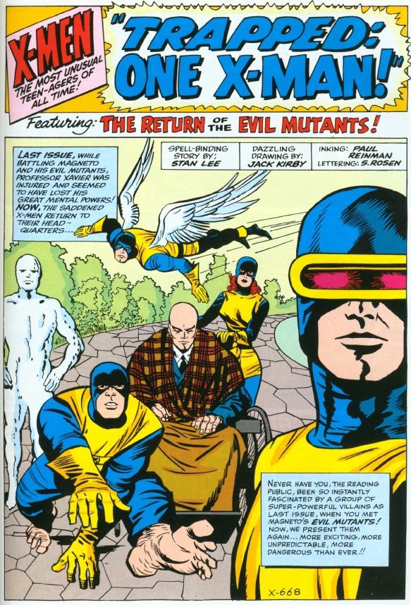 Jack Kirby: X-Men