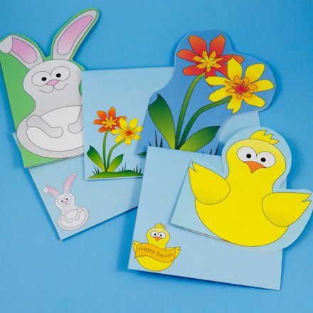 Fun shaped cards and matching envelopes