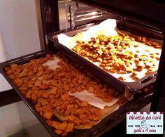 Crocchette per cani al salmonte fatte in casa, cucina casalinga per cani
