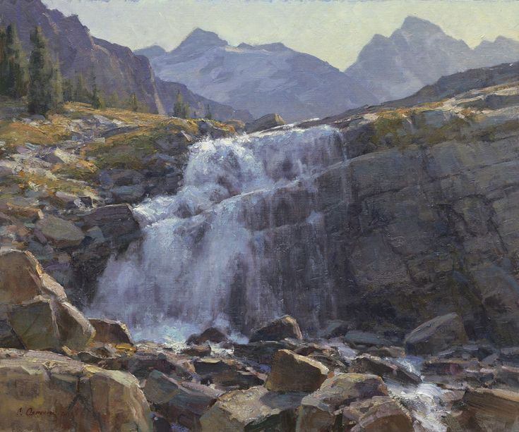 182 best clyde aspevig paintings images on pinterest for Landscaping rocks victoria bc