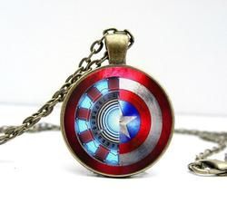 Iron Man /Captain America Necklace
