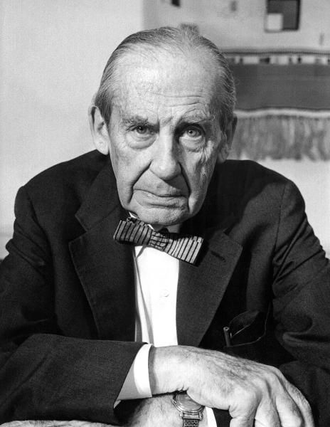 Architect Walter Gropius.  Even his bow tie had style.