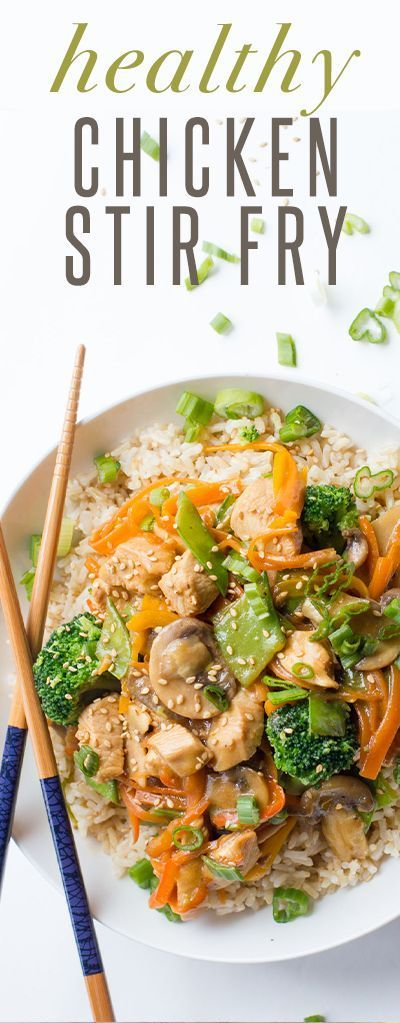 Healthy Chicken Stir Fry recipe #ad #sk An easy and delicious idea for dinner tonight! Click through for the recipe... Back To Her Roots