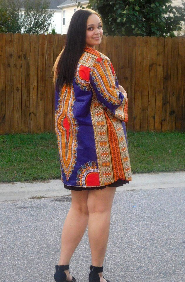 00f019389a4 plus size Dashiki duster by GhanaStyle on Etsy
