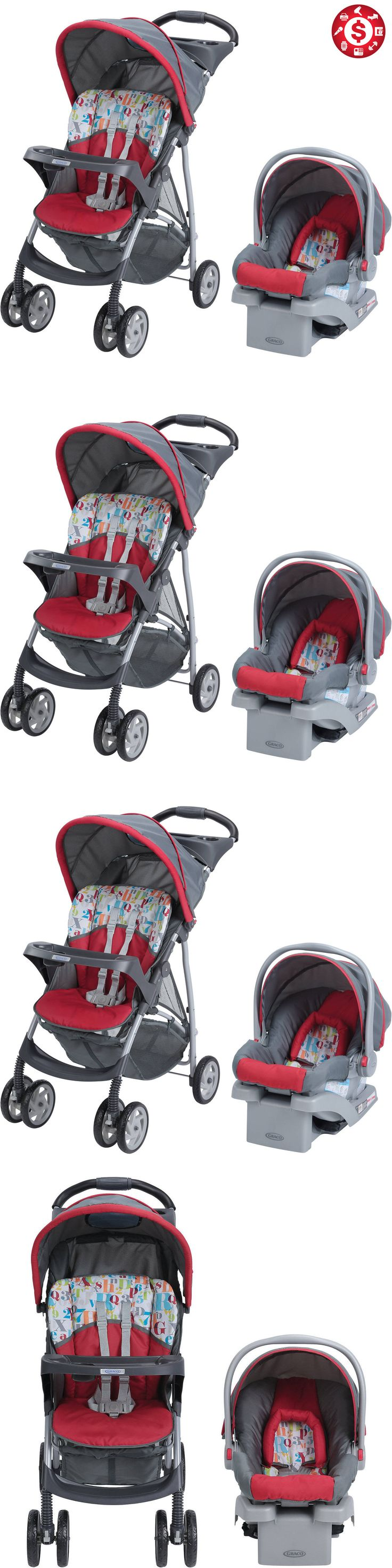 baby kid stuff: Baby Stroller And Car Seat 3In1 Travel System 22 Infant Carriage Buggy Bassinet -> BUY IT NOW ONLY: $100.71 on eBay!