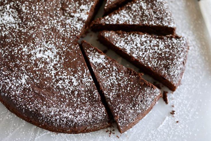 Einfacher zuckerfreier mehlloser Schokoladenkuchen   – Recipes